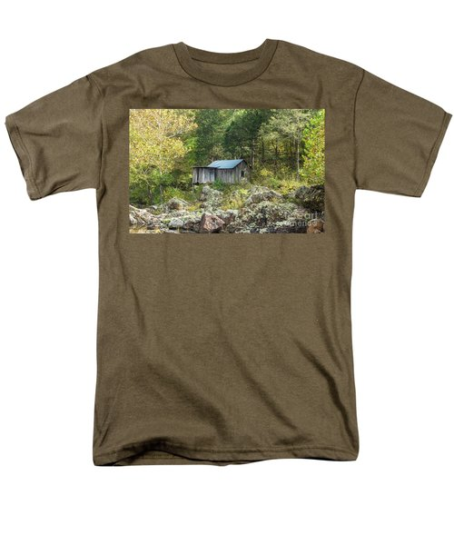 Men's T-Shirt  (Regular Fit) featuring the photograph Klepzig Mill by Julie Clements