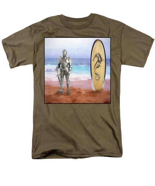Knights Landing Men's T-Shirt  (Regular Fit) by Michael Cleere