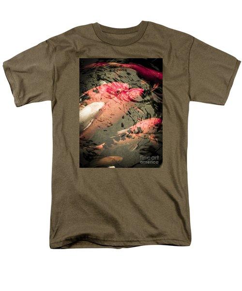Koi Carps Men's T-Shirt  (Regular Fit) by Perry Van Munster