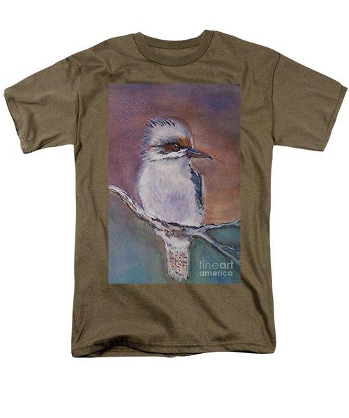 Men's T-Shirt  (Regular Fit) featuring the painting Kookaburra Fancy by Leslie Allen