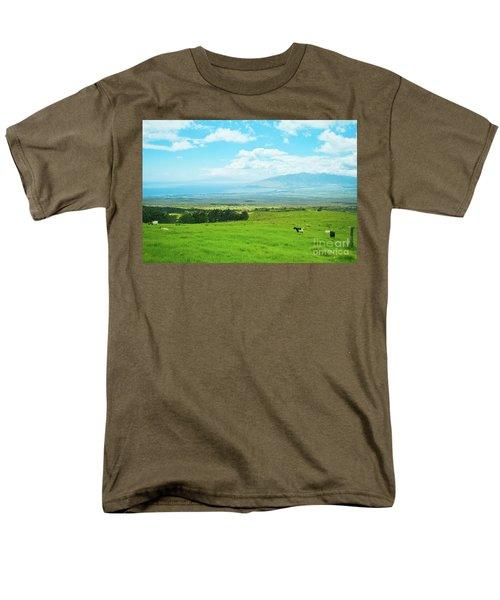 Kula Upcountry Maui Hawaii Men's T-Shirt  (Regular Fit) by Sharon Mau