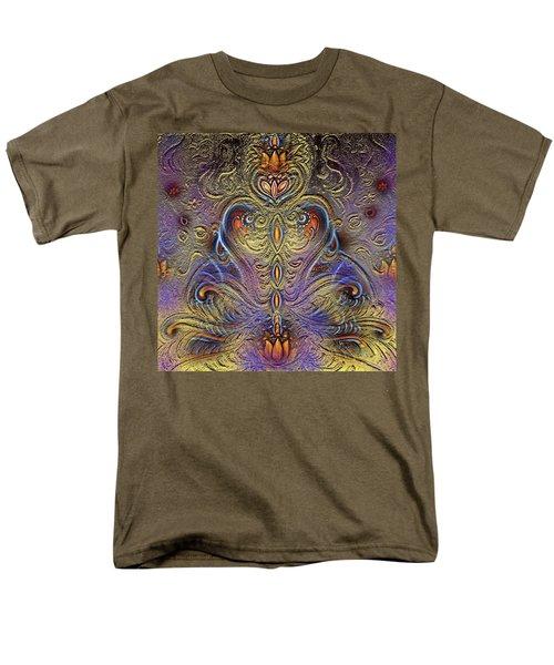 Kundalini  Men's T-Shirt  (Regular Fit) by Harsh Malik