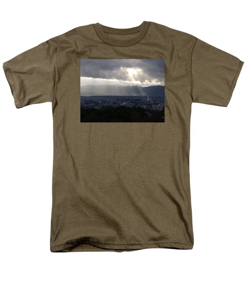 Kyoto Skyline Men's T-Shirt  (Regular Fit) by Pete Hall