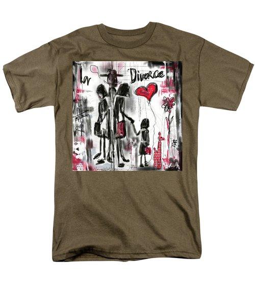 La Divorce  Men's T-Shirt  (Regular Fit)