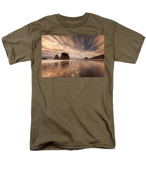 La Push Sunset Men's T-Shirt  (Regular Fit) by Ian Good