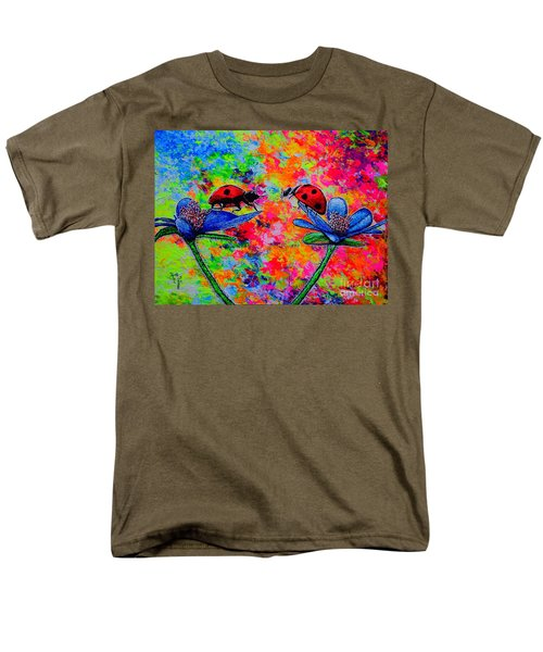 Lady Bugs Men's T-Shirt  (Regular Fit) by Viktor Lazarev