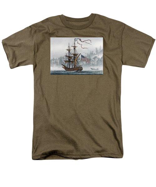 Lady Washington Men's T-Shirt  (Regular Fit) by James Williamson