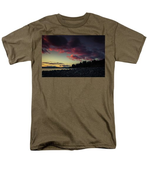 Men's T-Shirt  (Regular Fit) featuring the photograph Lake Dreams by Jan Davies