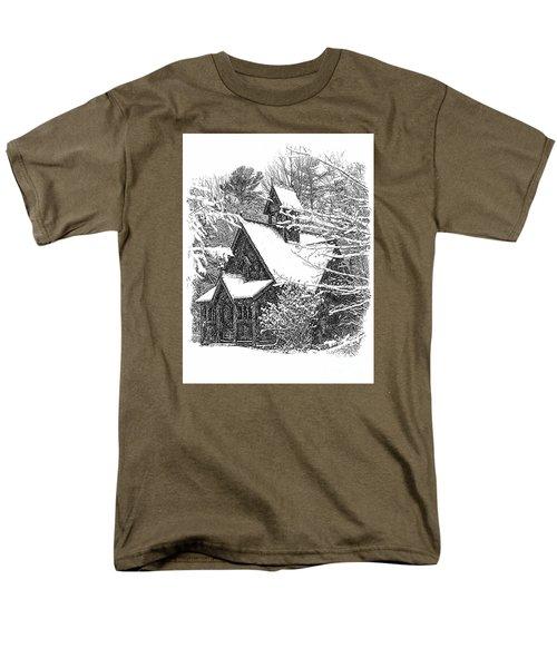 Lake Effect Snow Men's T-Shirt  (Regular Fit)