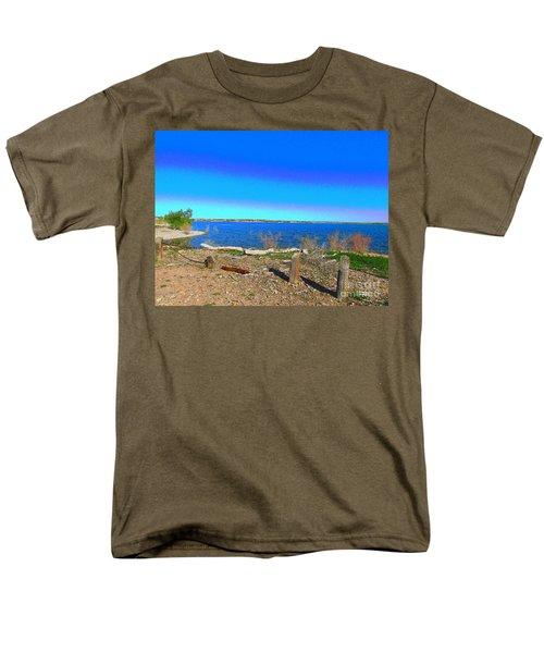 Lake Pueblo Painted Men's T-Shirt  (Regular Fit)