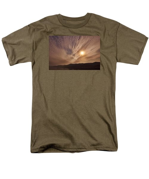 Lake Roosevelt Washington Men's T-Shirt  (Regular Fit) by Loni Collins