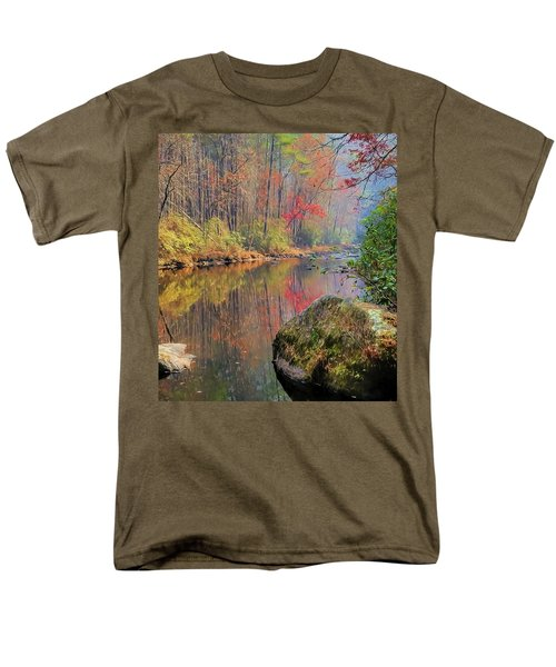 Chattooga Paradise Men's T-Shirt  (Regular Fit) by Steven Richardson