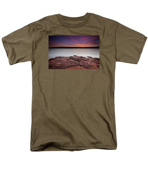 Lake Sunset Iv Men's T-Shirt  (Regular Fit)