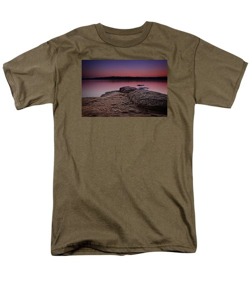 Lake Sunset Viii Men's T-Shirt  (Regular Fit)