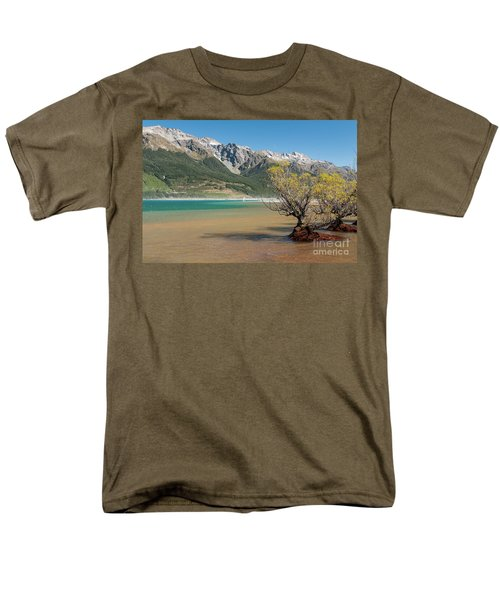 Lake Wakatipu Men's T-Shirt  (Regular Fit) by Werner Padarin