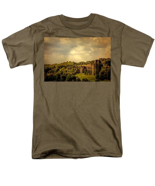 Men's T-Shirt  (Regular Fit) featuring the photograph Lancing College by Chris Lord