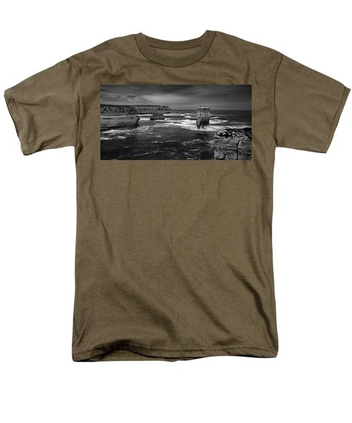 Land And Sea Men's T-Shirt  (Regular Fit) by Mark Lucey