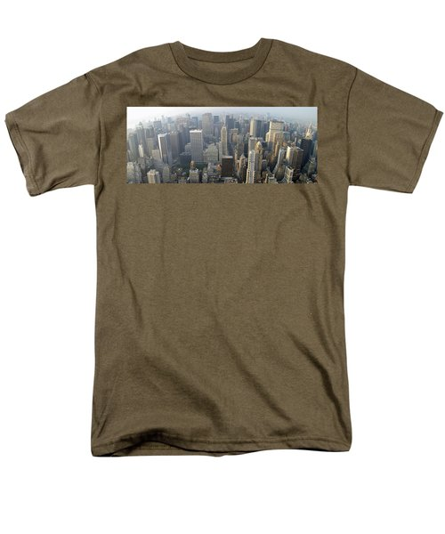 Land Of Skyscapers Men's T-Shirt  (Regular Fit) by Aaron Martens