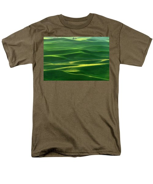 Land Waves Men's T-Shirt  (Regular Fit) by Ryan Manuel