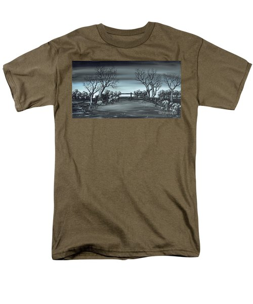 Men's T-Shirt  (Regular Fit) featuring the painting Landsend by Kenneth Clarke