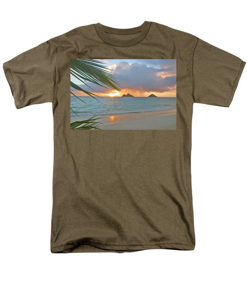 Lanikai Sunrise Men's T-Shirt  (Regular Fit) by Tomas del Amo - Printscapes