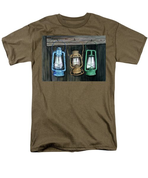 Lanterns Men's T-Shirt  (Regular Fit) by Ferrel Cordle