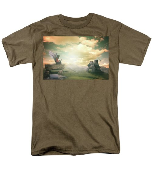 Laptop Dreams Men's T-Shirt  (Regular Fit) by Nathan Wright