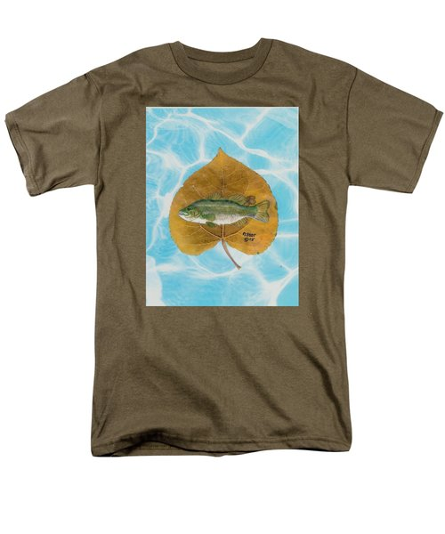 Large Mouth Bass #2 Men's T-Shirt  (Regular Fit) by Ralph Root