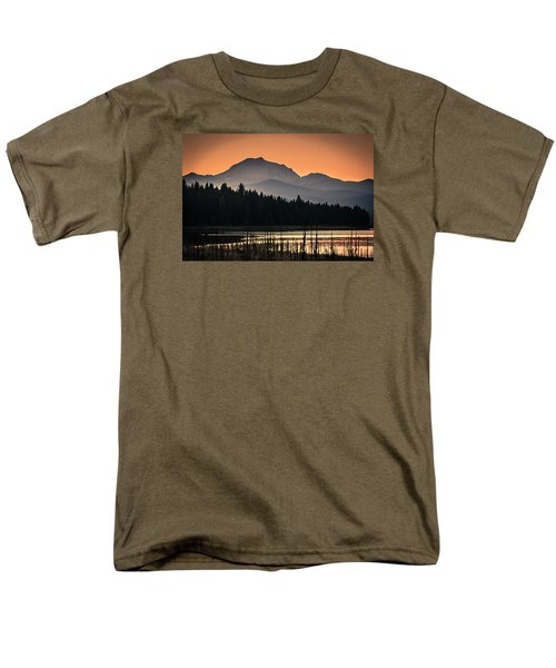 Men's T-Shirt  (Regular Fit) featuring the photograph Lassen In Autumn Glory by Jan Davies