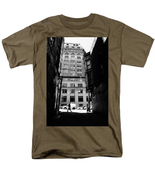 Men's T-Shirt  (Regular Fit) featuring the photograph Last Jacket  by Empty Wall