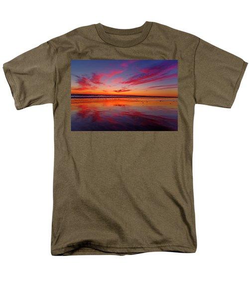 Last Light Topsail Beach Men's T-Shirt  (Regular Fit) by Betsy Knapp