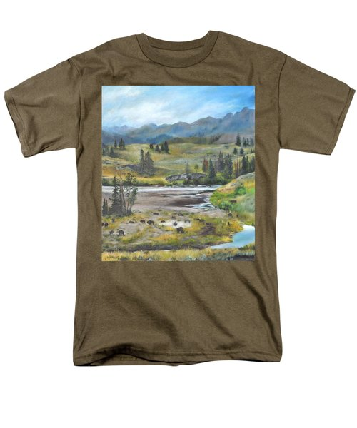 Late Summer In Yellowstone Men's T-Shirt  (Regular Fit)