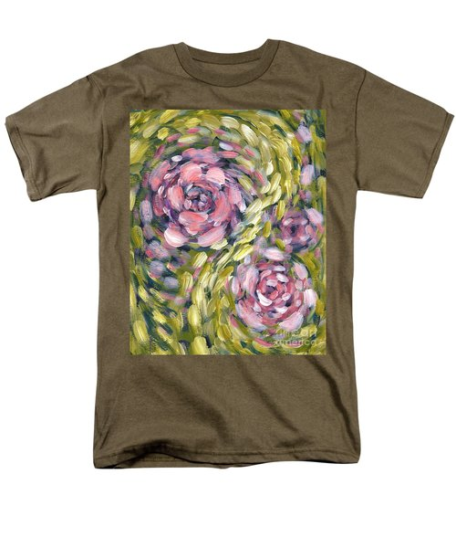 Men's T-Shirt  (Regular Fit) featuring the digital art Late Summer Whirl by Holly Carmichael