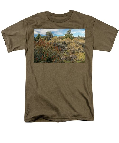 Lava Formations Men's T-Shirt  (Regular Fit) by Cindy Murphy - NightVisions