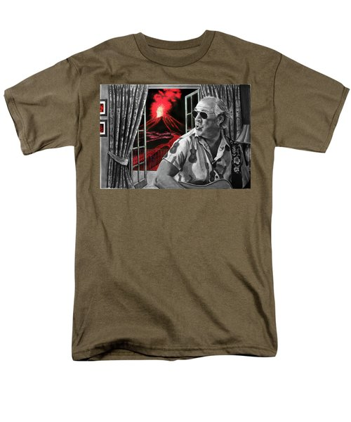 Lava Me Now Or Lava Me Not Men's T-Shirt  (Regular Fit) by William Underwood