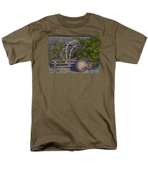Lavender And Lobster Men's T-Shirt  (Regular Fit) by Jane Thorpe