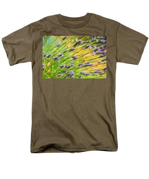 Lavender Men's T-Shirt  (Regular Fit) by Josephine Buschman