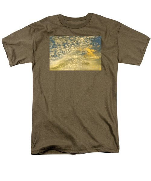 Layers Of Sky Men's T-Shirt  (Regular Fit) by Wanda Krack