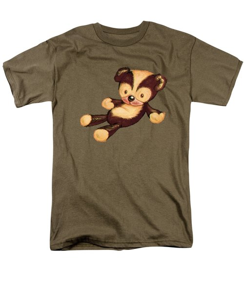 Lazy Bear Men's T-Shirt  (Regular Fit) by Andy Catling