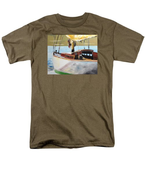Lazy Sloop Men's T-Shirt  (Regular Fit) by Stan Tenney