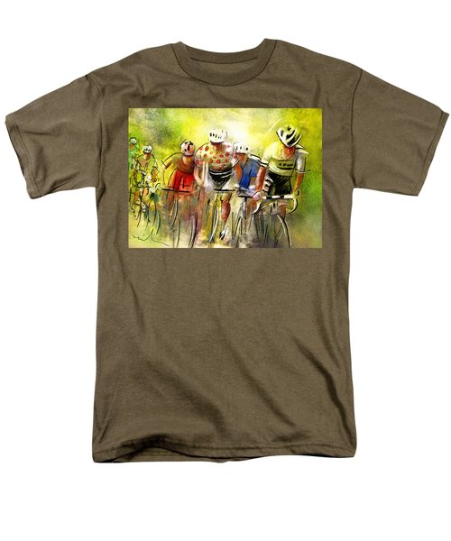 Le Tour De France 07 Men's T-Shirt  (Regular Fit) by Miki De Goodaboom