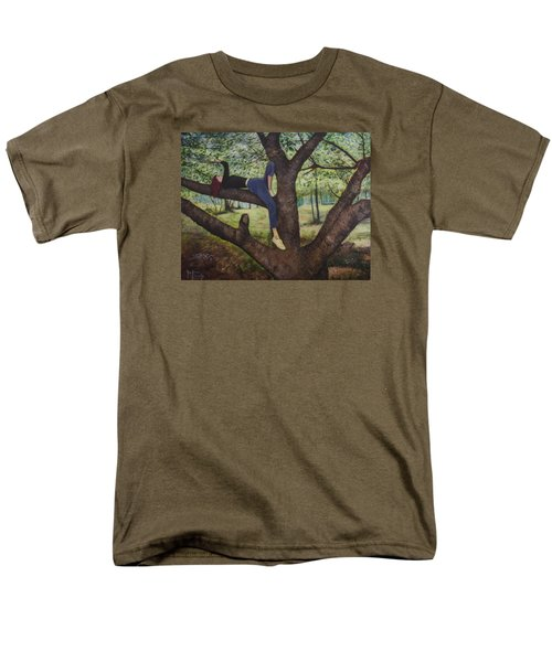 Lea Henry And The Henry Tree Men's T-Shirt  (Regular Fit) by Ron Richard Baviello