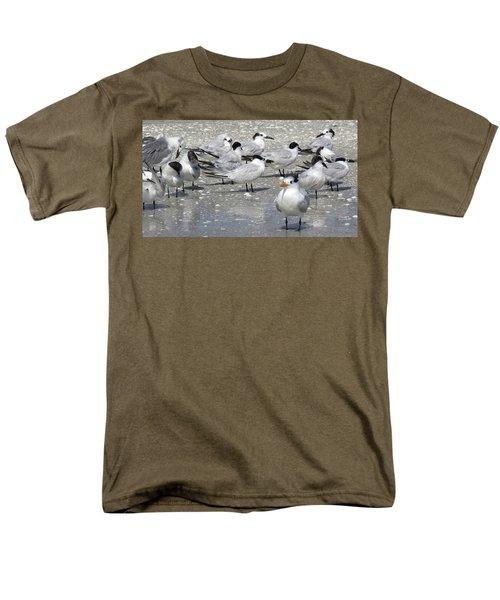 Least Terns Men's T-Shirt  (Regular Fit) by Melinda Saminski