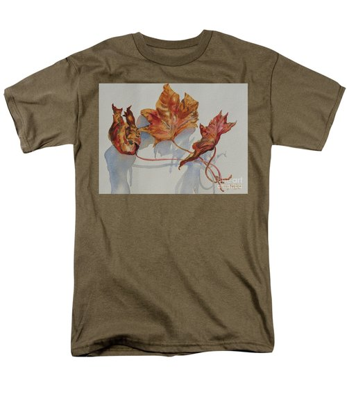 Leaves Of Fall Men's T-Shirt  (Regular Fit) by Mary Haley-Rocks