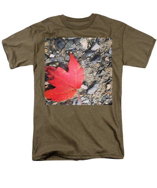 Left For Red Men's T-Shirt  (Regular Fit) by Jason Nicholas
