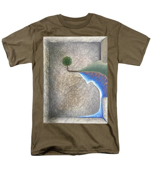Left Universe Men's T-Shirt  (Regular Fit) by Steve  Hester