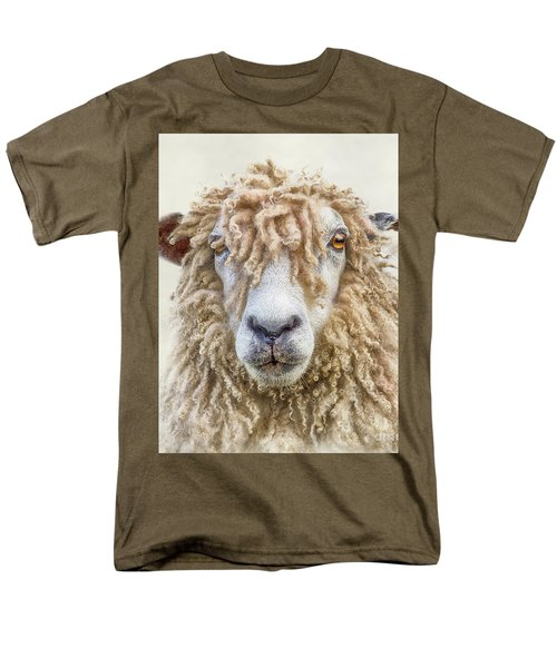 Leicester Longwool Sheep Men's T-Shirt  (Regular Fit) by Linsey Williams