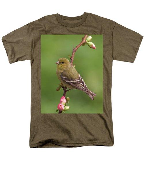 Men's T-Shirt  (Regular Fit) featuring the photograph Lesser Goldfinch by Doug Herr