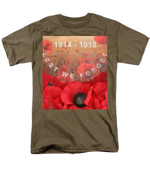 Lest We Forget - 1914-1918 Men's T-Shirt  (Regular Fit)