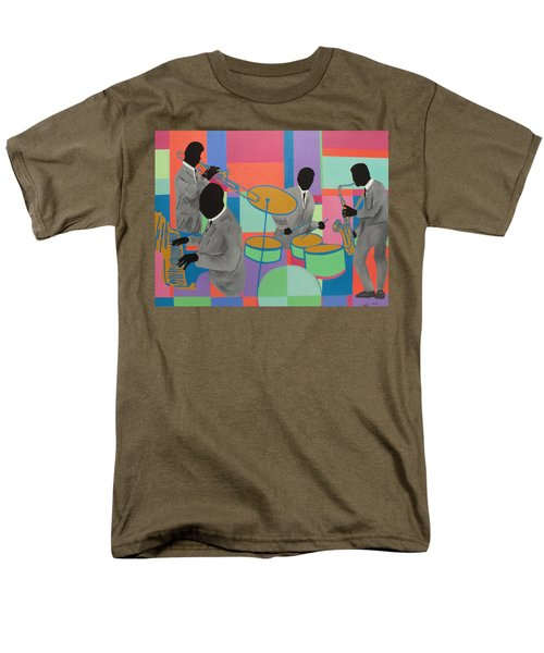 Let The Band Play Men's T-Shirt  (Regular Fit) by Angelo Thomas